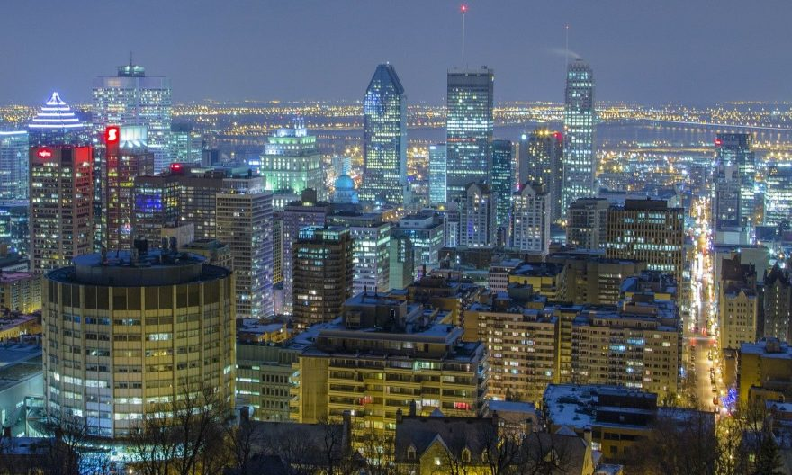 Люди покидают город Монреаль - статистика 2020